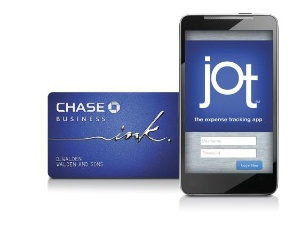 Ink from Chase's Jot app now features receipt capture capability. (Graphic: Chase Card Services)