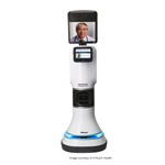 RP-VITA is the first telemedicine robot with autonomous navigation that is FDA-cleared for use in high-acuity hospital environments. (Photo: Business Wire)