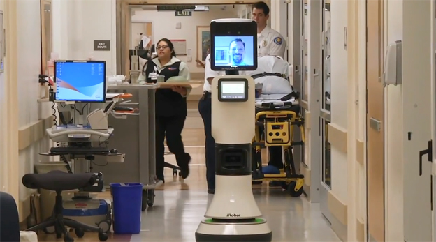 RP-VITA is the world's first FDA-cleared, telemedicine robot that combines state-of-the-art telecommunications with auto-navigation technology.