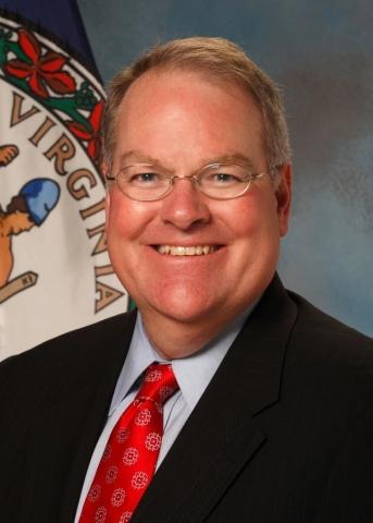 Virginia's Secretary of Health and Human Resources William A. Hazel, Jr., MD (Photo: Cardinal Bank)