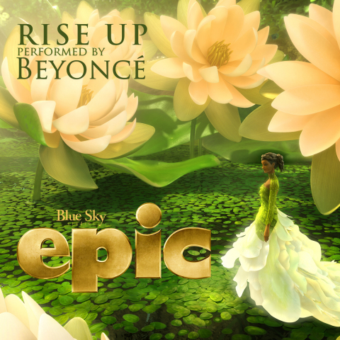 """RISE UP"" Track Cover Art (Graphic: Business Wire)"