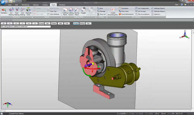 KeyMarkUp CAD Viewer with Comparison Technology