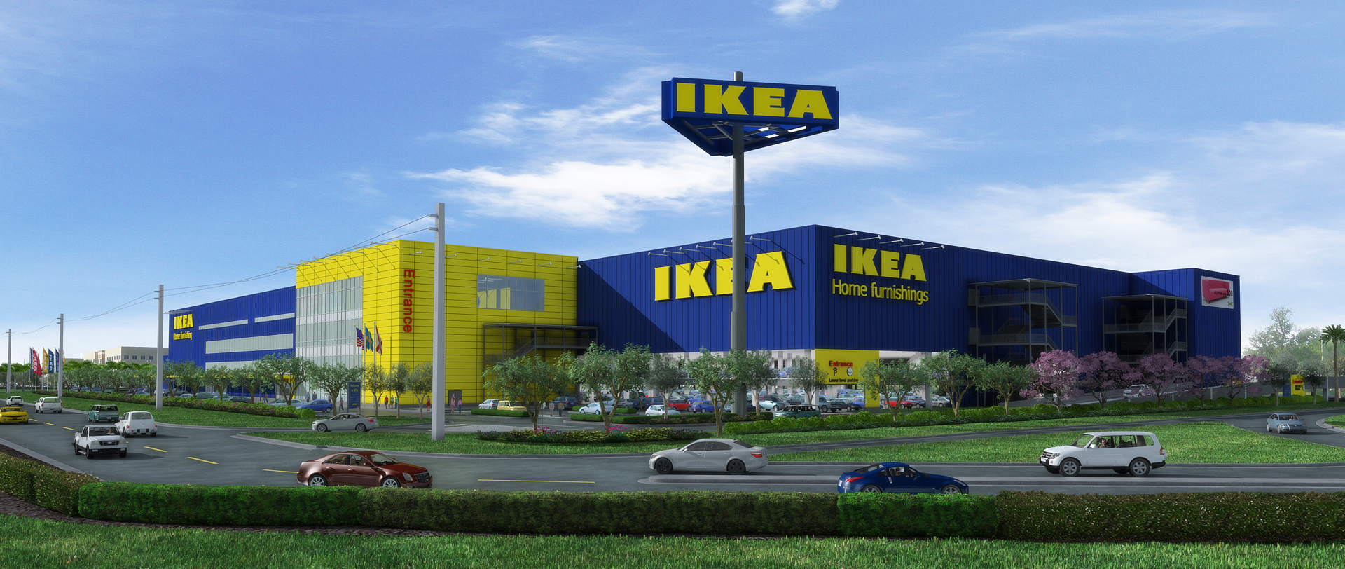 Expanding in florida swedish home furnishings retailer for Ikea store online shopping