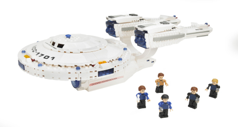The KRE-O STAR TREK U.S.S. ENTERPRISE building set from Hasbro is available at retail locations now. ...