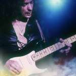 Ritchie Blackmore playing his Fender Stratocaster guitar in Deep Purple. (Photo: Business Wire)