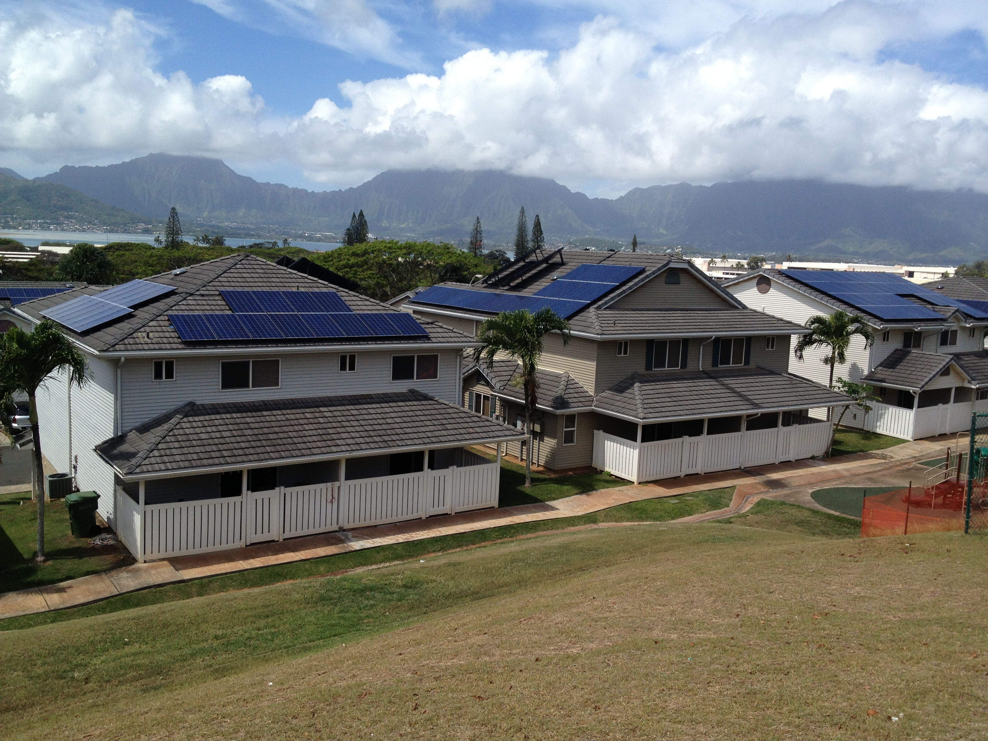 Solarcity Forest City Team To Install Solar On Up 6500 Homes In Wiring A House Arrays Atop Military Housing At Marine Corps Base Hawaii Part Of