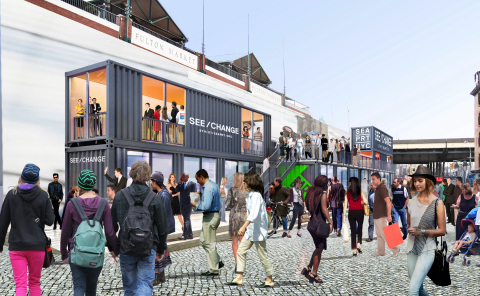 Retail Containers and Smorgasbar (Photo: Business Wire)
