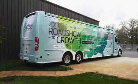 GE Capital and Slate's Roadshow for Growth tour bus hits Chicago today and will be traveling to more ...