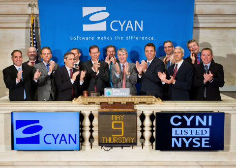 Cyan Chairman and Chief Executive Officer Mark Floyd, joined by Cyan's Founder and President, Michae ...