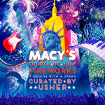 37th Annual Macy's 4th of July Fireworks - It Begins with a Spark - Curated by Usher - Live in New York City on the Hudson River, Thursday, July 4 at 9 p.m. ET (Graphic: Business Wire)