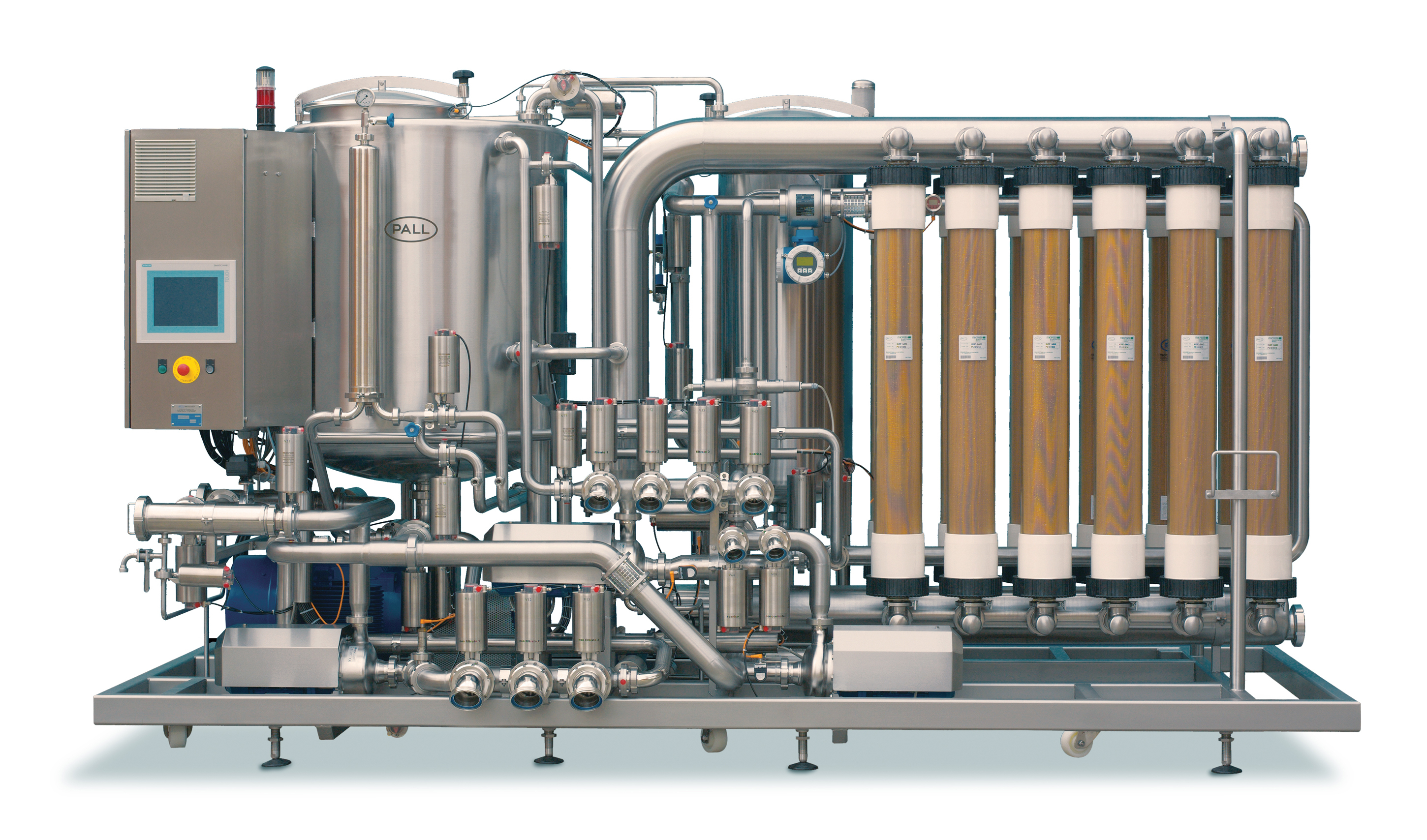 Pall Corp Celebrates Sale Of 1 000th Oenoflow Filtration