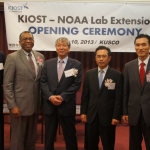 KIOST, launched its new outside post, KIOST-NOAA Lab extension (Photo: Business Wire)