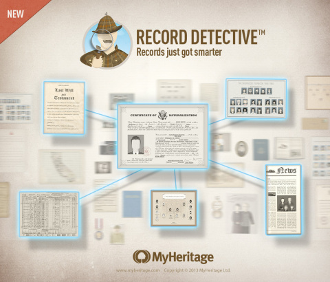 Record Detective(TM) - Records just got smarter (Photo: Business Wire)
