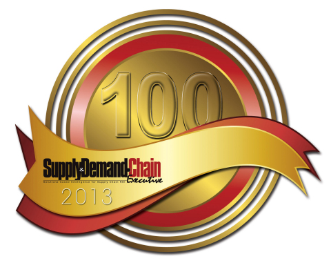 Aravo Selected as Member of the 2013 Supply & Demand Chain Executive 100 (Graphic: Business Wire)
