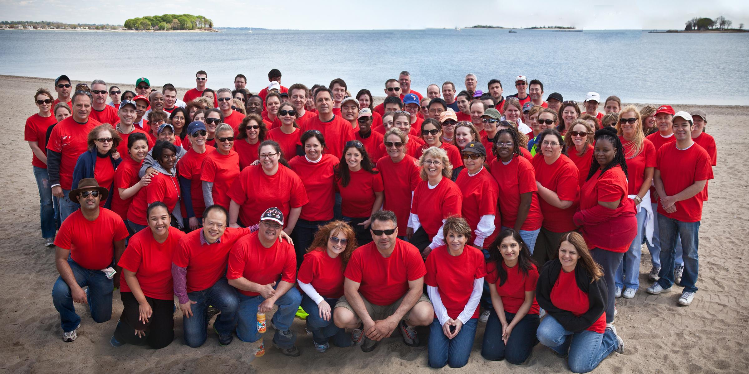 Pepperidge Farm Employees Get Norwalk Beaches Ready For Busy Summer Season Business Wire
