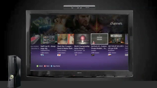 Twitch viewing app for Xbox 360 video game and entertainment console from Microsoft now available for download in the US from the Xbox Live marketplace.