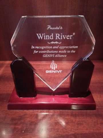 Wind River receives Most Valuable Contributor Award from GENIVI Alliance (Photo: Business Wire)