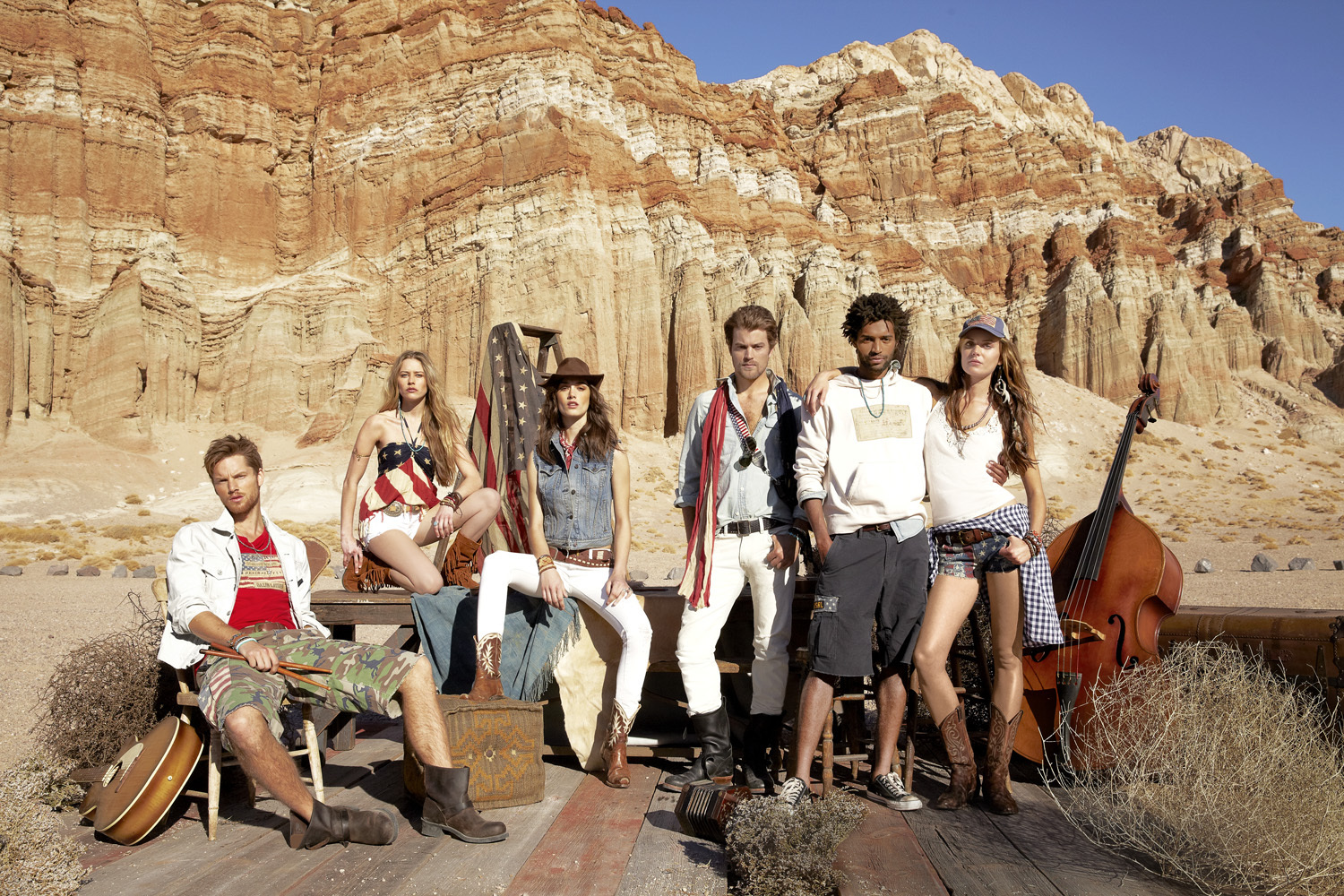Macy's salutes American style with fashions from Denim & Supply Ralph Lauren for the retailer's American Icons campaign. (Photo: Business Wire)