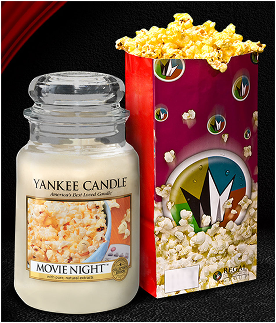 Regal Entertainment Group's Popcorn Aroma Immortalized by Yankee ...