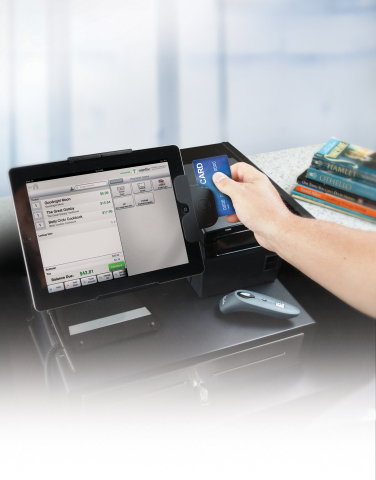Vantiv Mobile Checkout System In Use (Photo: Business Wire)