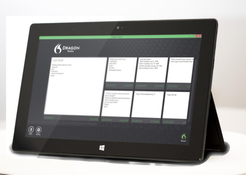 Nuance Announces Dragon Notes for Windows 8 Tablets and PCs (Graphic: Business Wire)