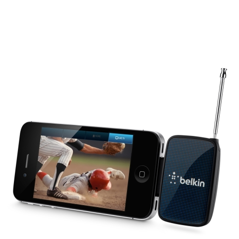 Belkin Announces Availability of Dyle(TM) Mobile TV Receiver (Photo: Business Wire)