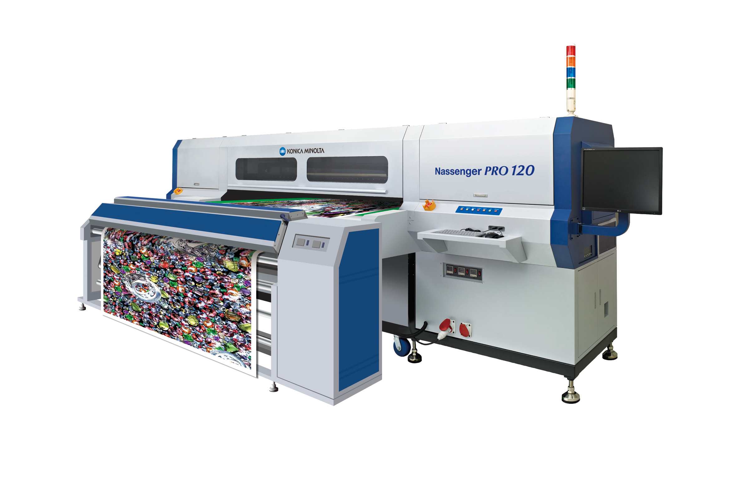 Konica Minolta to Unveil New Inkjet Textile Printer