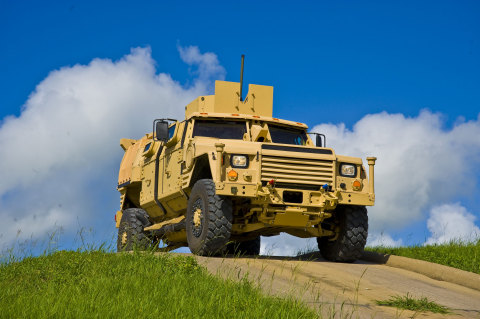 Joint Light Tactical Vehicle (JLTV) designed to provide protected, sustained, networked mobility for personnel and payloads across the full range of military operations. (Photo: (C) Lockheed Martin)