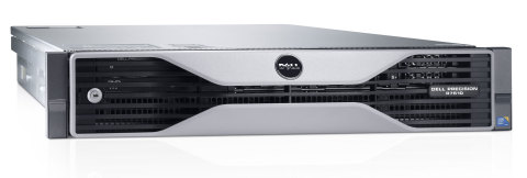 The next generation Dell Precision R7610 rack workstation has been updated with significantly more power, an enhanced remote experience and new virtualization capabilities for engineers, designers and other professional users who demand the best. The intelligently designed 2U rack form-factor enables customers to centralize, secure and manage data, leverage their worldwide talent pool, and share resources for improved cost effectiveness. (Photo: Business Wire)