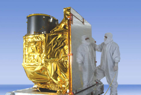 The ITT Exelis-developed Advanced Baseline Imager (ABI) (pictured here) has successfully completed t ...