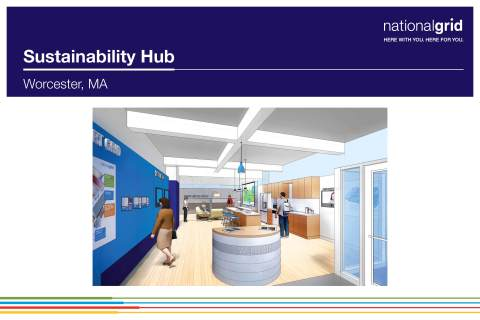 National Grid Unveils Future Home of Sustainability Hub (Graphic: Business Wire)