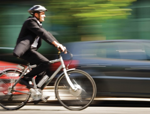 e-bikes are seen as an increasingly viable option for urban mobility (Photo: Business Wire)