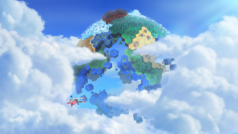Sonic Lost World Image (Photo: Business Wire)