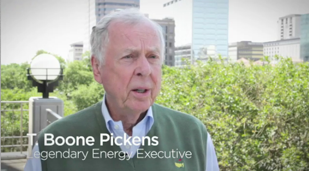 Watch T. Boone Pickens and American Natural gas Alliance (ANGA) praise Halliburton's leadership in the use of natural gas in its day-to-day operations.