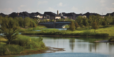 Fast-selling Cross Creek Ranch near Houston is an SWA Group-designed, master-planned community that uses 'workhorse' natural systems -- a restored creek, water-polishing wetlands and enhanced animal habitat -- to create amenities for residents. (Photo: Business Wire)