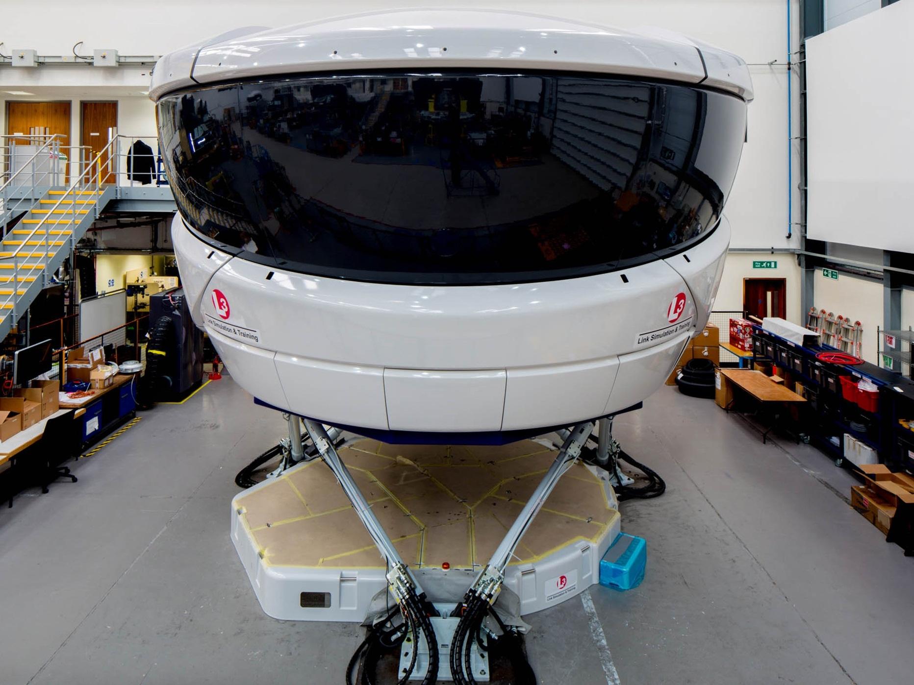 L-3 Link Simulation & Training Cuts Engineering Change