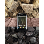 Cat Phone - rubble, rock, coast (Photo: Business Wire)