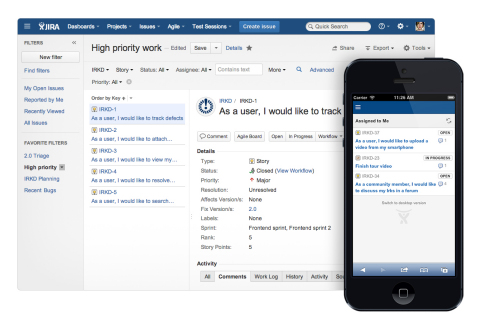 Wrapped in a brand new, modern user interface, JIRA 6 features faster navigation and editing, simpli ...