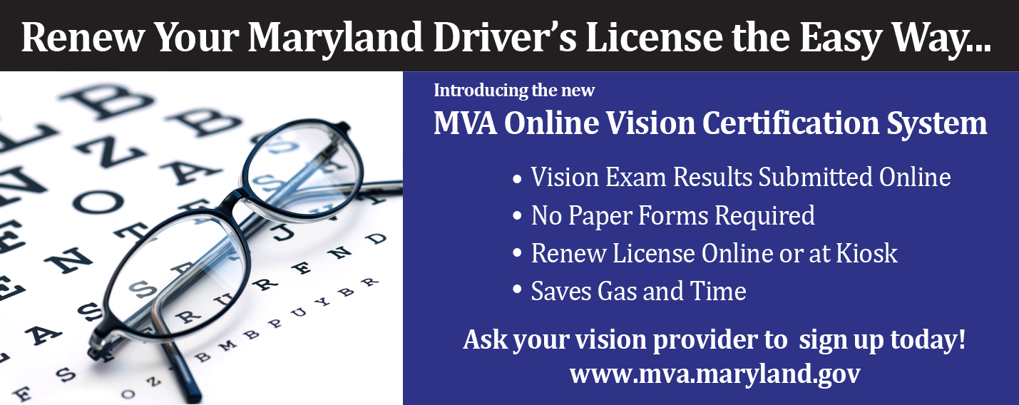 md mva drivers license test