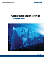 2013 Global Relocation Trends Survey report by Brookfield Global Relocation Services (Graphic: Business Wire)