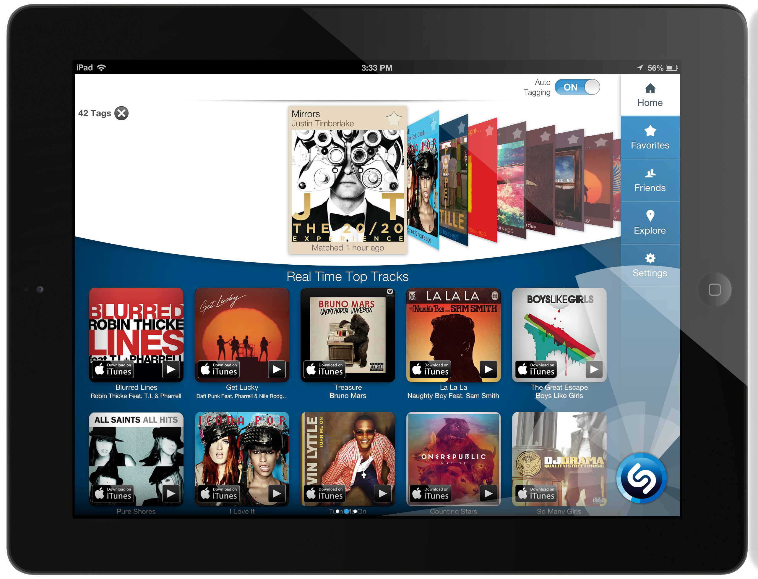 Shazam Launches Completely Redesigned App for iPad with New ...