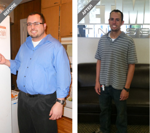 Frank Pace, Bloomington, Minn., Weight Loss Challenge National Male Winner: In 90 days, Frank lost 105.7 pounds, improved his myHealthScore(R) and the pains from his old injuries became almost non-existent. (Photo: Life Time Fitness)