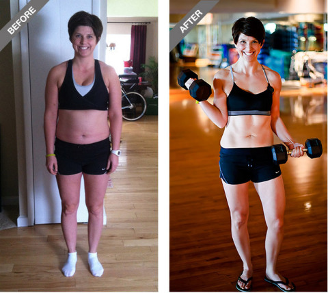 Amanda Dumouchelle, Novi, Mich., Transformation Challenge National Female Winner: In 90 days, Amanda saw a 53.04% change in body fat and is now stronger and healthier than ever. (Photo: Life Time Fitness)