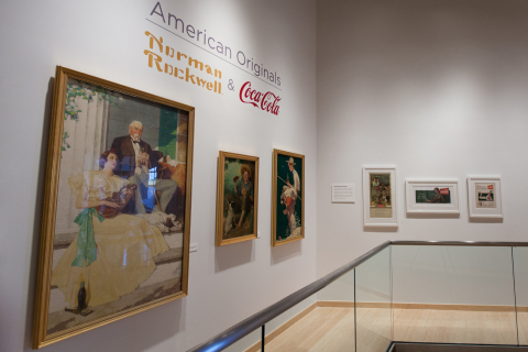 Starting today, American Originals: Norman Rockwell & Coca-Cola, the newest exhibit at the World of ...