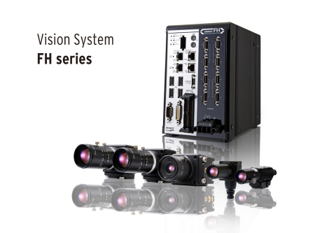 Omron's new FH-Series Vision System offers best-in-industry speed, precision, and versatility. (Phot ...