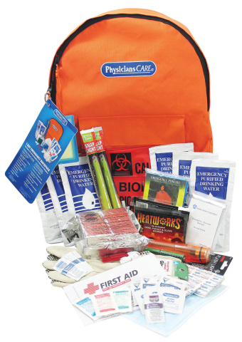 Less than half of small businesses said they are prepared for severe emergencies or that safety plans are communicated regularly. Staples suggests that businesses stock up on emergency items like food, water, flashlights and blankets, enough to help sustain employees for up to three days. (Photo: Business Wire)