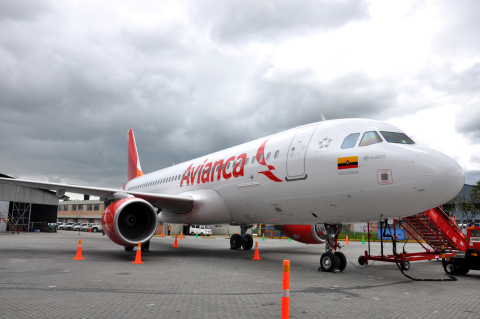 Plane Avianca (Photo: Business Wire)