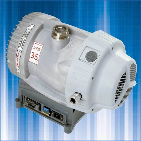 Edwards' XDS35i dry scroll vacuum pump (Photo: Business Wire)