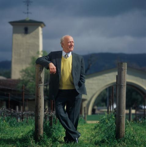 June 18, 2013 marks the 100th birthday of California wine legend Robert Mondavi (Photo: Business Wire)