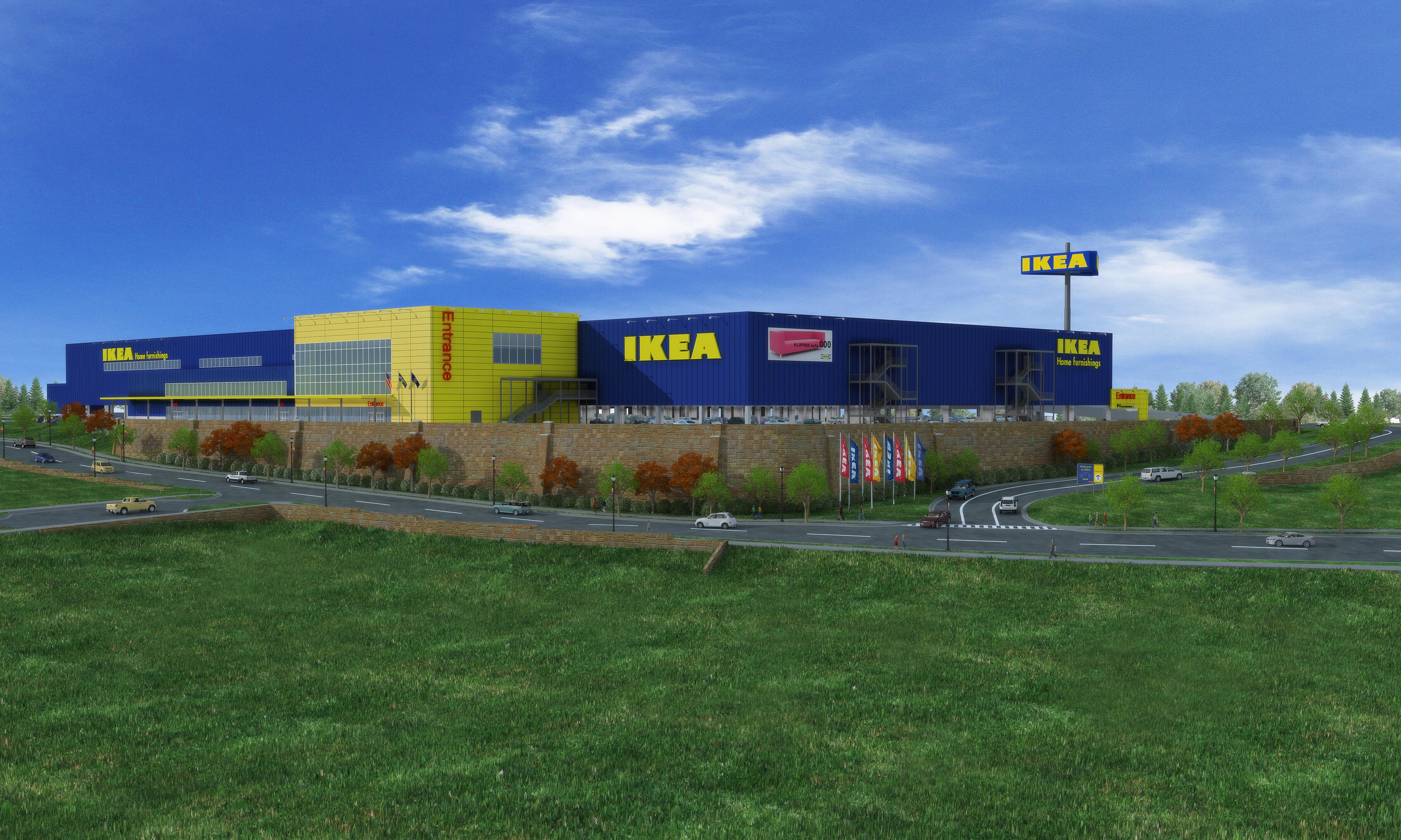 Swedish Home Furnishings Retailer Ikea Begins On Site Demolition